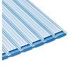 Aquadeck Aquadeck Lamellen PVC transparant per m2