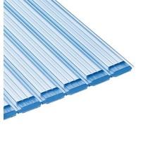 Aquadeck Lamellen PVC transparant per m2