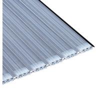Aquadeck Lamellen polycarbonaat metallic solar per m2