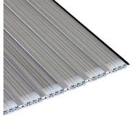 Aquadeck Lamellen polycarbonaat platinum solar per m2