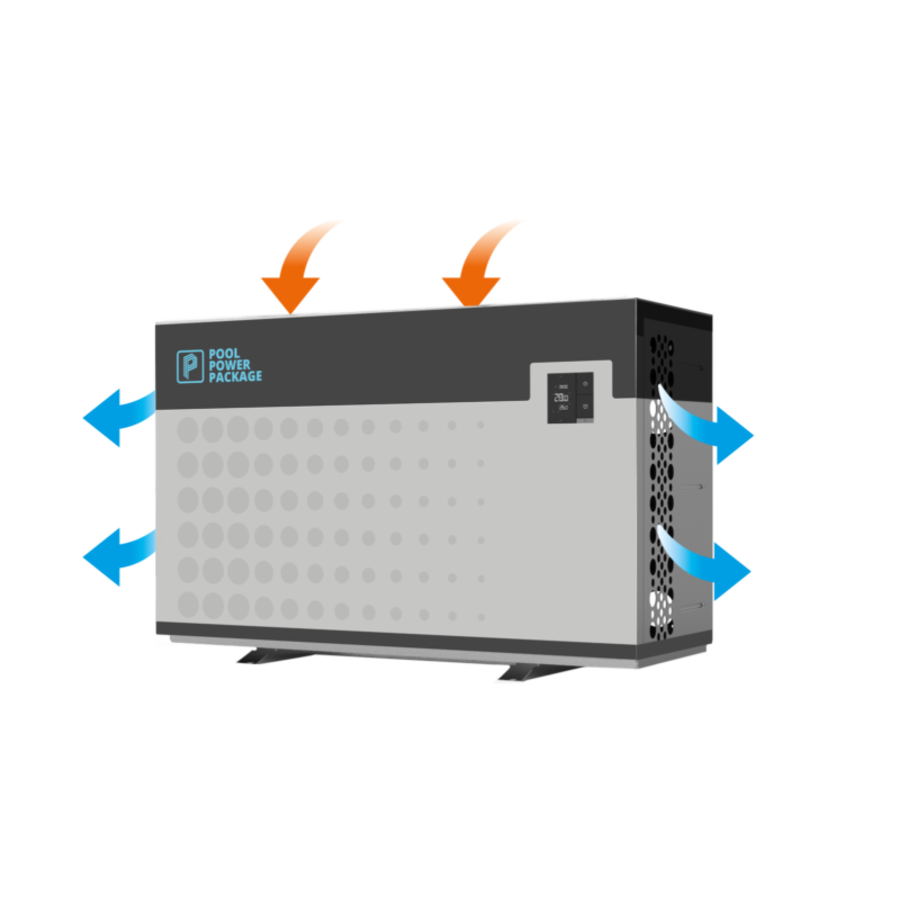 VBEX Full Inverter Zwembadwarmtepomp  18/1F-1