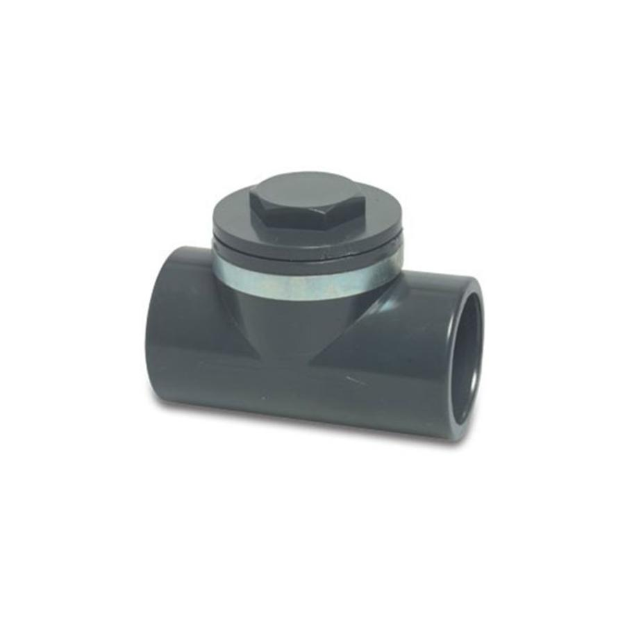 PVC terugslagklep klepel 50MM-1
