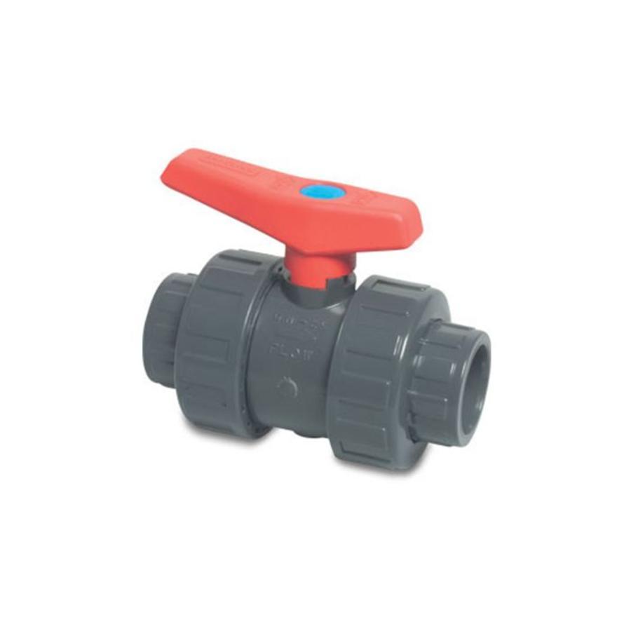 50 mm PVC kogelkraan-1