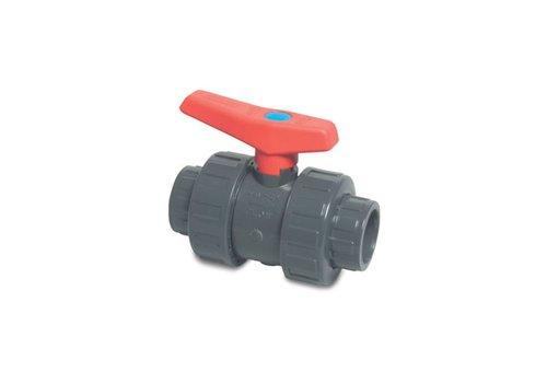 40 mm PVC kogelkraan
