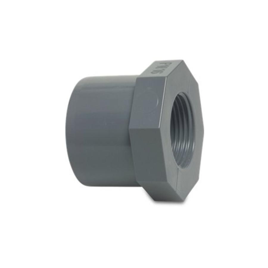 PVC verloop 40MM naar 3/4'' binnendraad-1