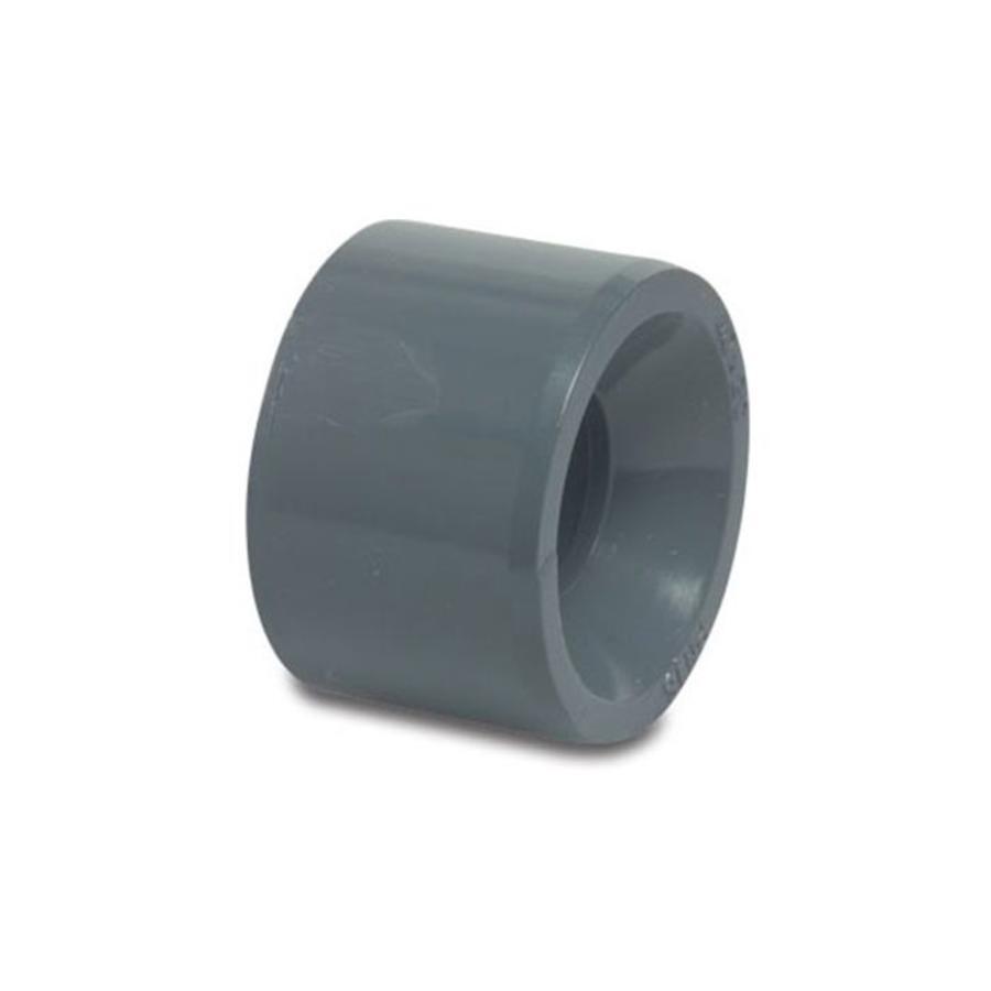PVC verloop van 75 mm naar 40 mm-1