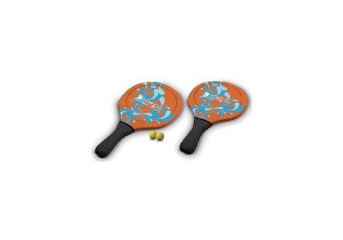 Rackets met ballen