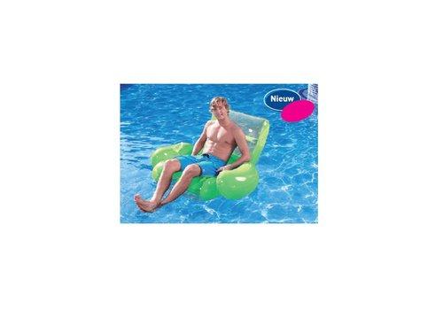 Drijvende stoel met bekerhouder