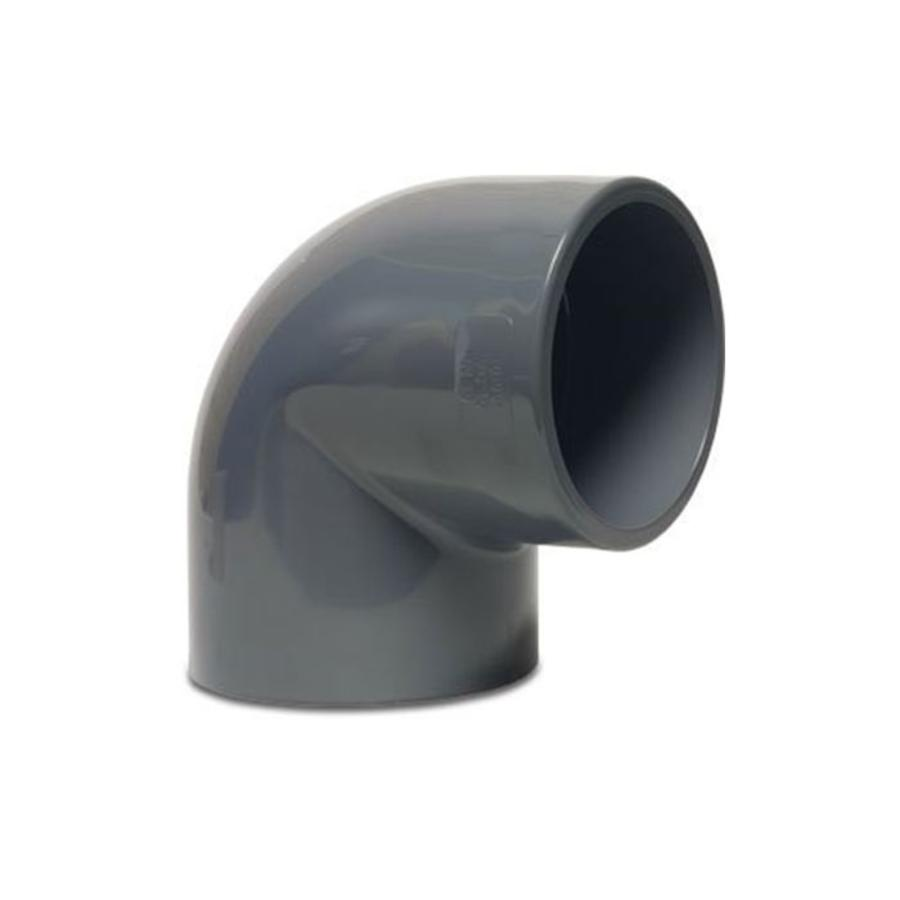 PVC knie 90 graden-1