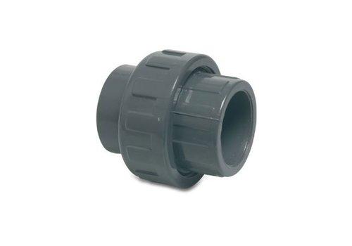 PVC koppeling 3 delig 50 mm