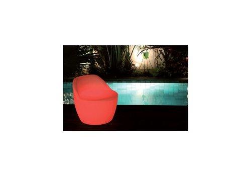 Lichtgevende fauteuil