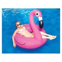 thumb-Opblaasbare flamingo roze-1