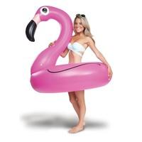 thumb-Opblaasbare flamingo roze-2
