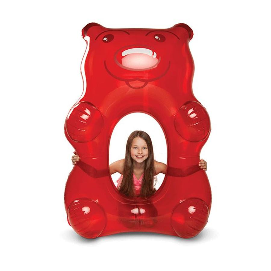 Gummibeer rood zwemband-4