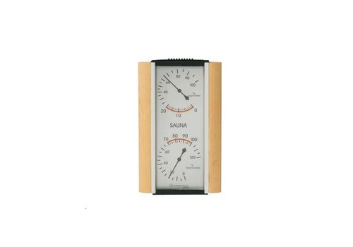 Sauna thermometer en hygrometer