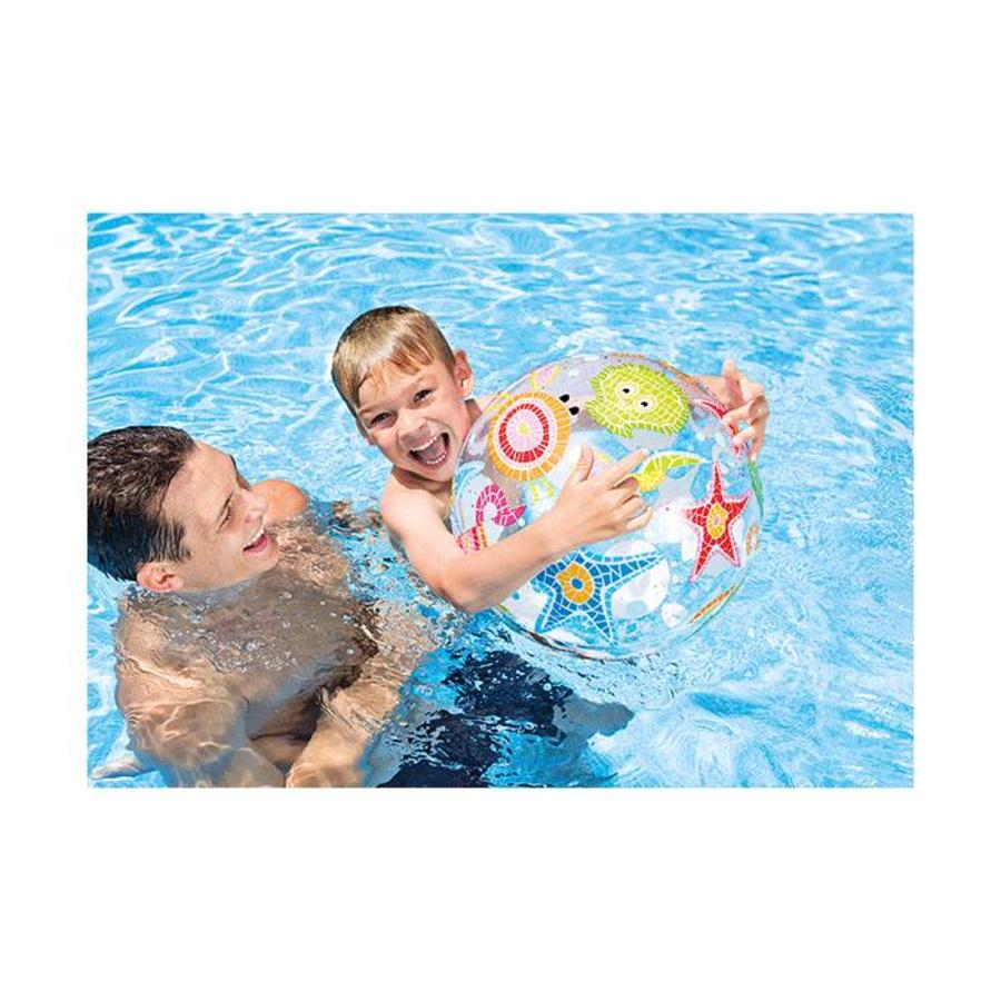 Intex opblaasbare strandbal onderwater 61 cm-2
