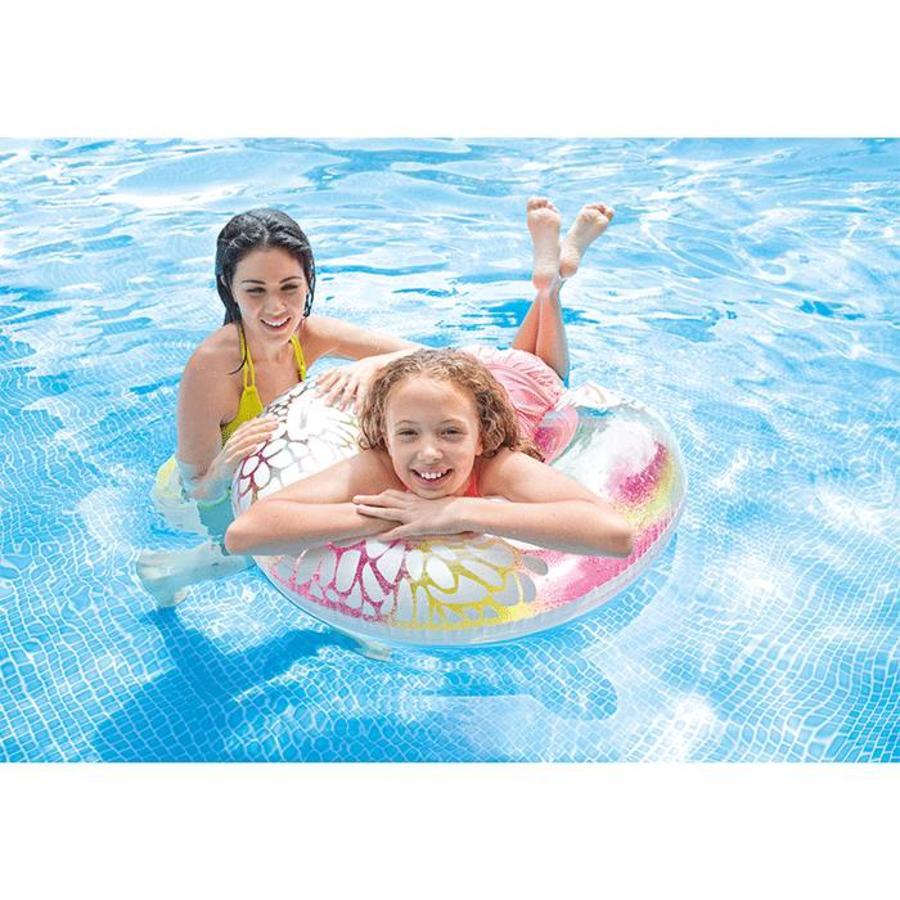 Intex transparante zwemband gekleurd-2