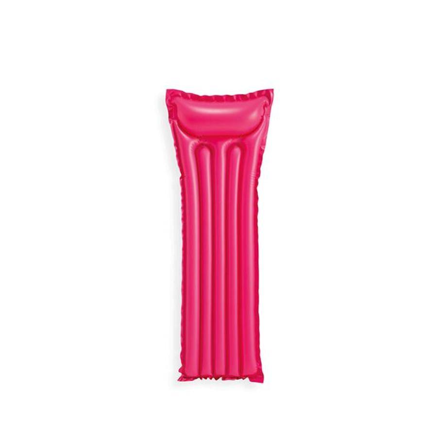 Intex economats opblaasbaar luchtbed roze-2