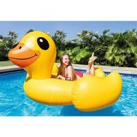 thumb-Intex mega yellow duck island 221 cm-2