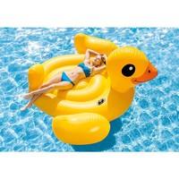 thumb-Intex mega yellow duck island 221 cm-3