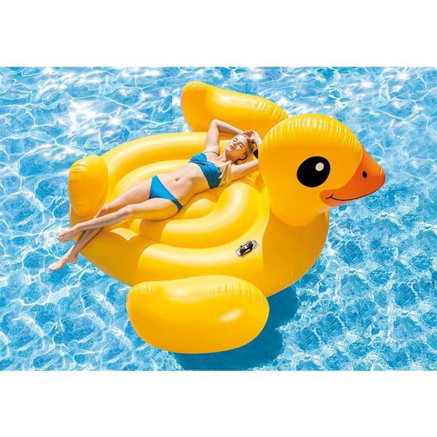 Intex mega yellow duck island 221 cm-3