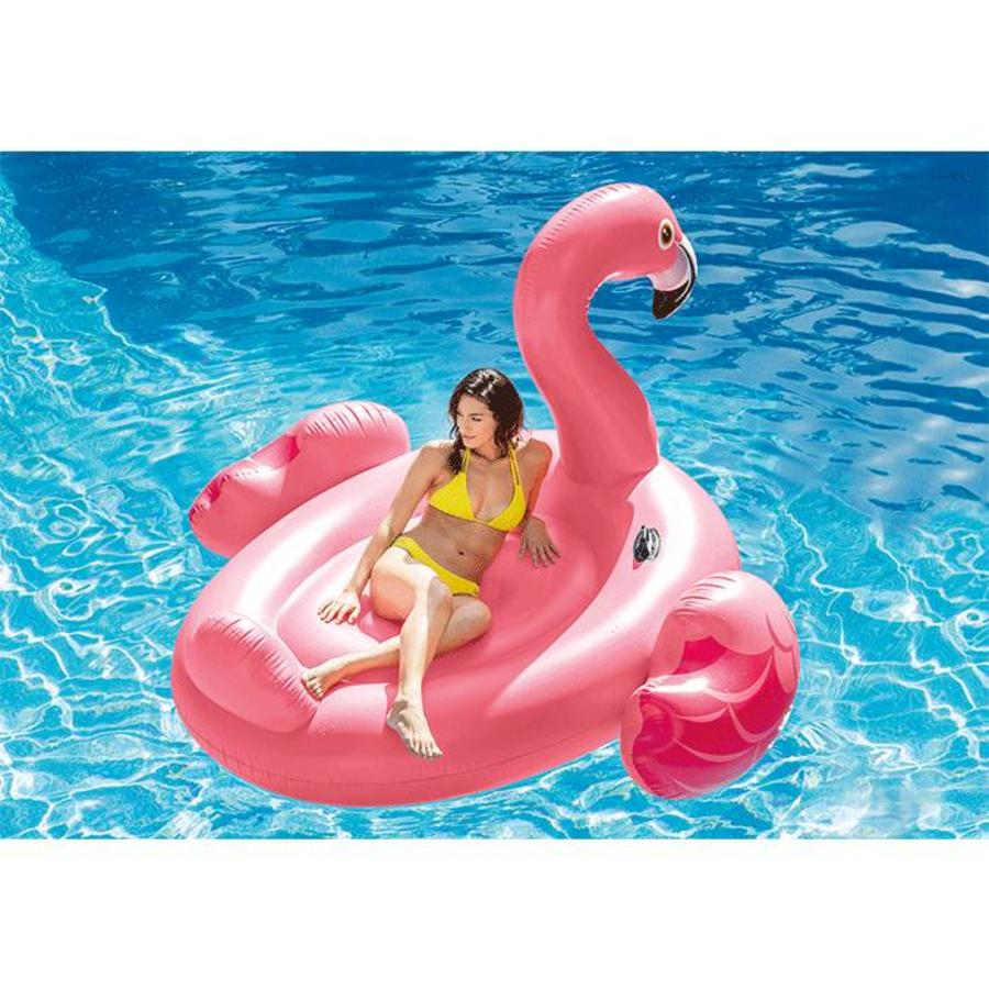 Intex mega opblaasbare flamingo island float 218 cm-2