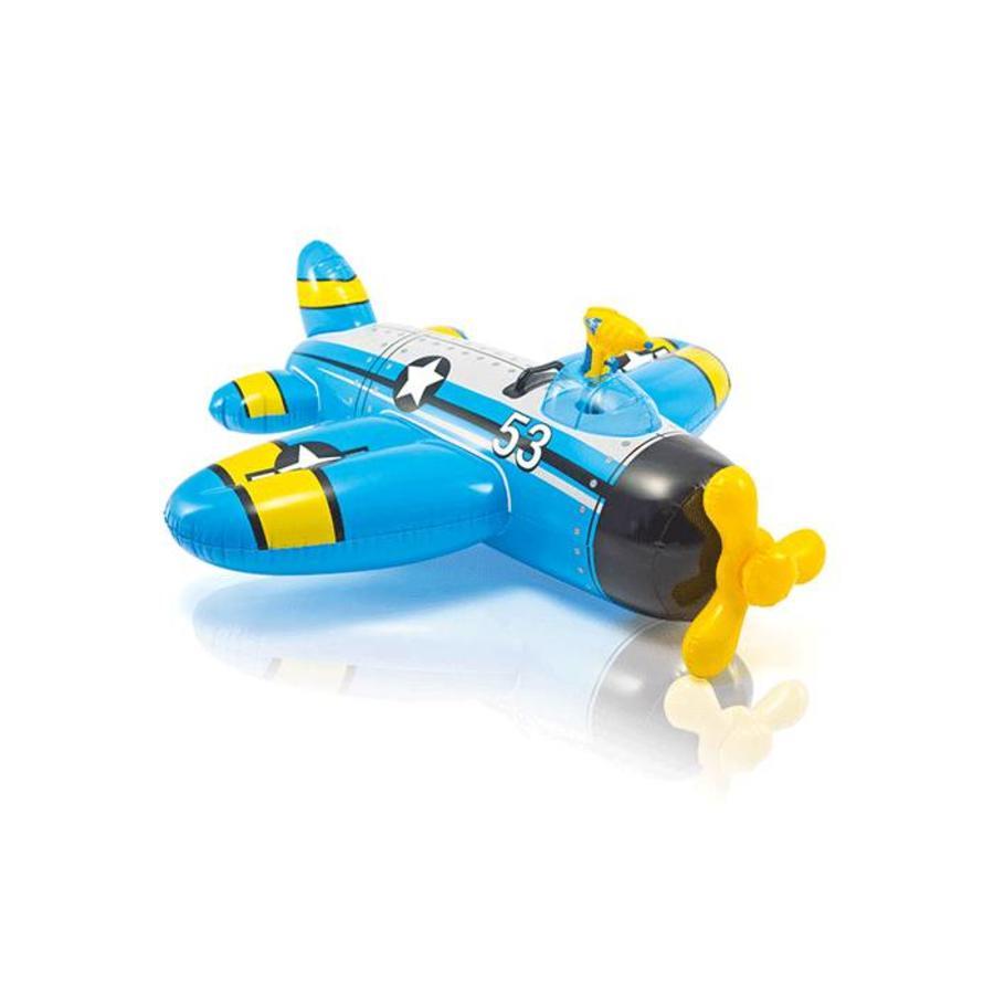Intex opblaas vliegtuig met waterpistool-2
