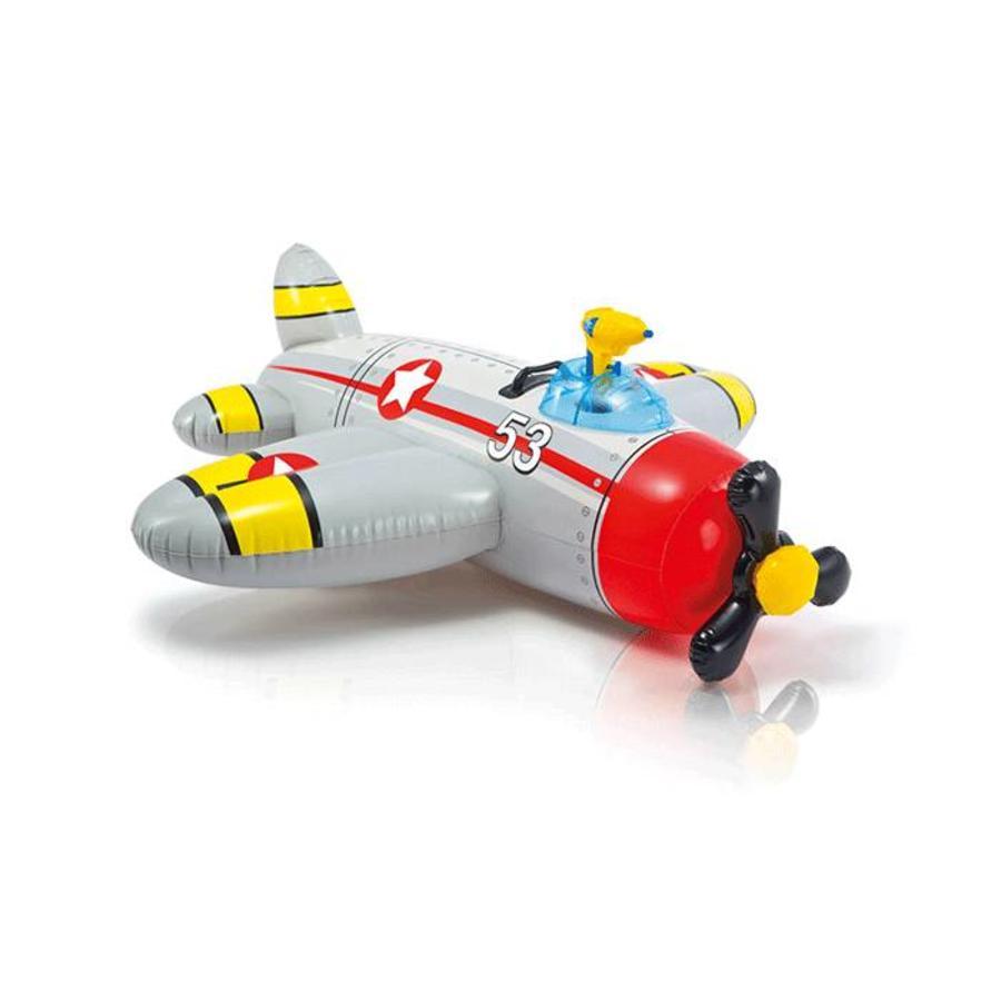 Intex opblaas vliegtuig met waterpistool-3