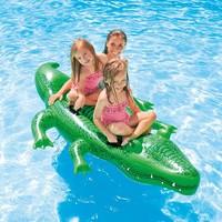 thumb-Intex opblaasbare krokodil 203 cm-2