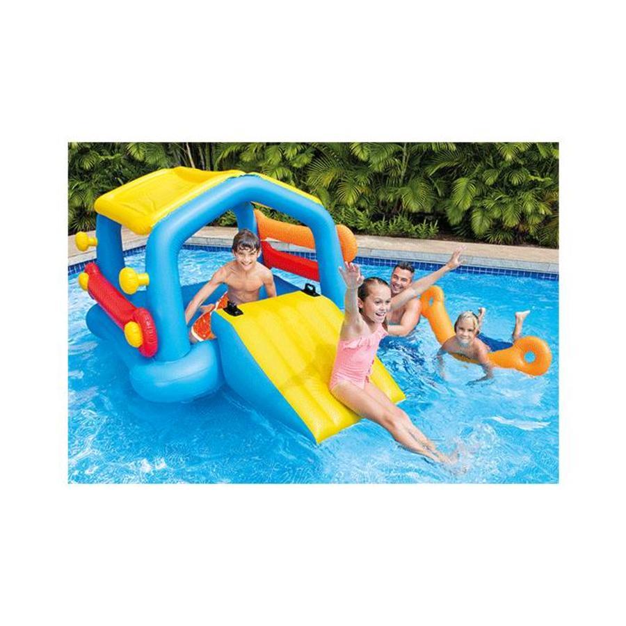Zwembad Met Glijbaan.Intex Intex Speelgoed Eiland Met Glijbaan
