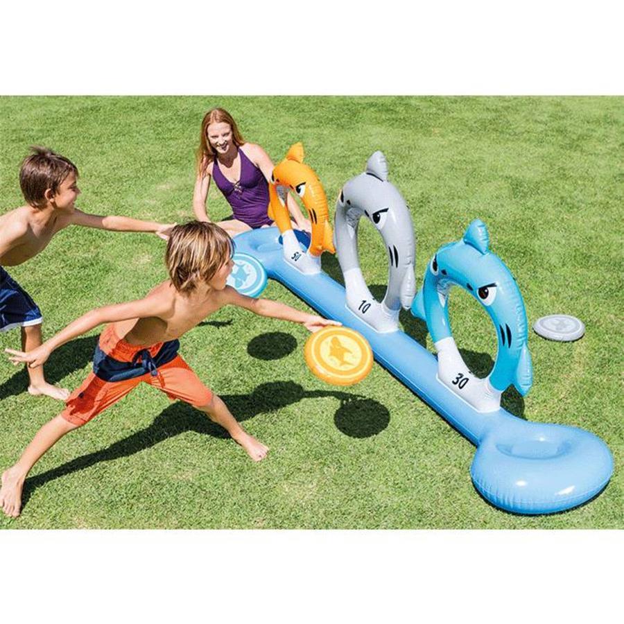 Intex opblaasbaar frisbee spel-4