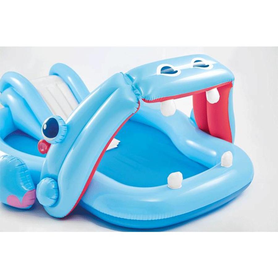 Intex hippo speelzwembad met glijbaan-2