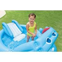 thumb-Intex hippo speelzwembad met glijbaan-3