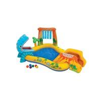 thumb-Intex speelzwembad met glijbaan-1