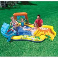 thumb-Intex speelzwembad met glijbaan-2