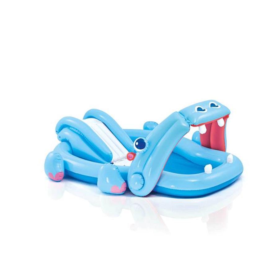 Intex hippo speelzwembad met glijbaan-1