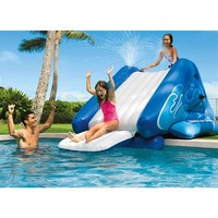 thumb-Intex opblaasbare waterglijbaan-3