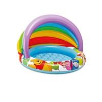 thumb-Intex Winnie the Pooh baby pool met overkapping-1