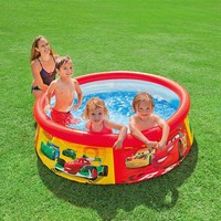 thumb-Intex opblaaszwembad Cars-2