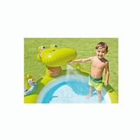 thumb-Intex alligator kinderzwembad (198cm x 160cm x 91cm)-2