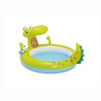 thumb-Intex alligator kinderzwembad (198cm x 160cm x 91cm)-1