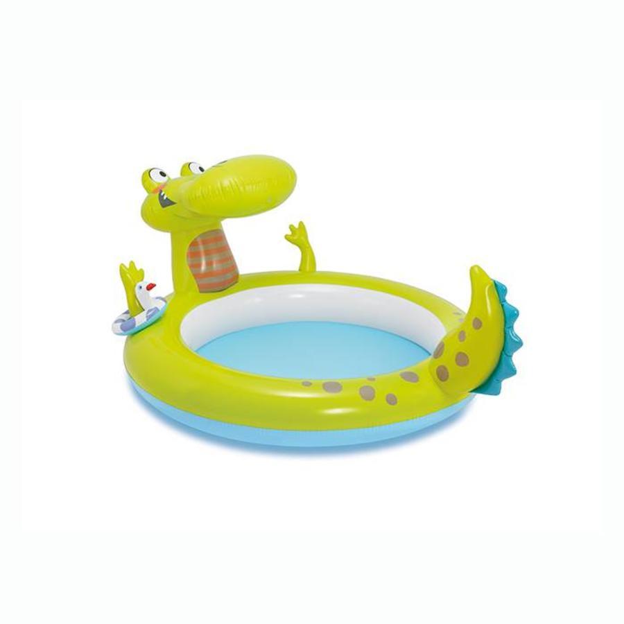 Intex alligator kinderzwembad (198cm x 160cm x 91cm)-1
