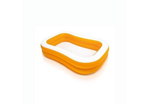 Intex oranje familiezwembad
