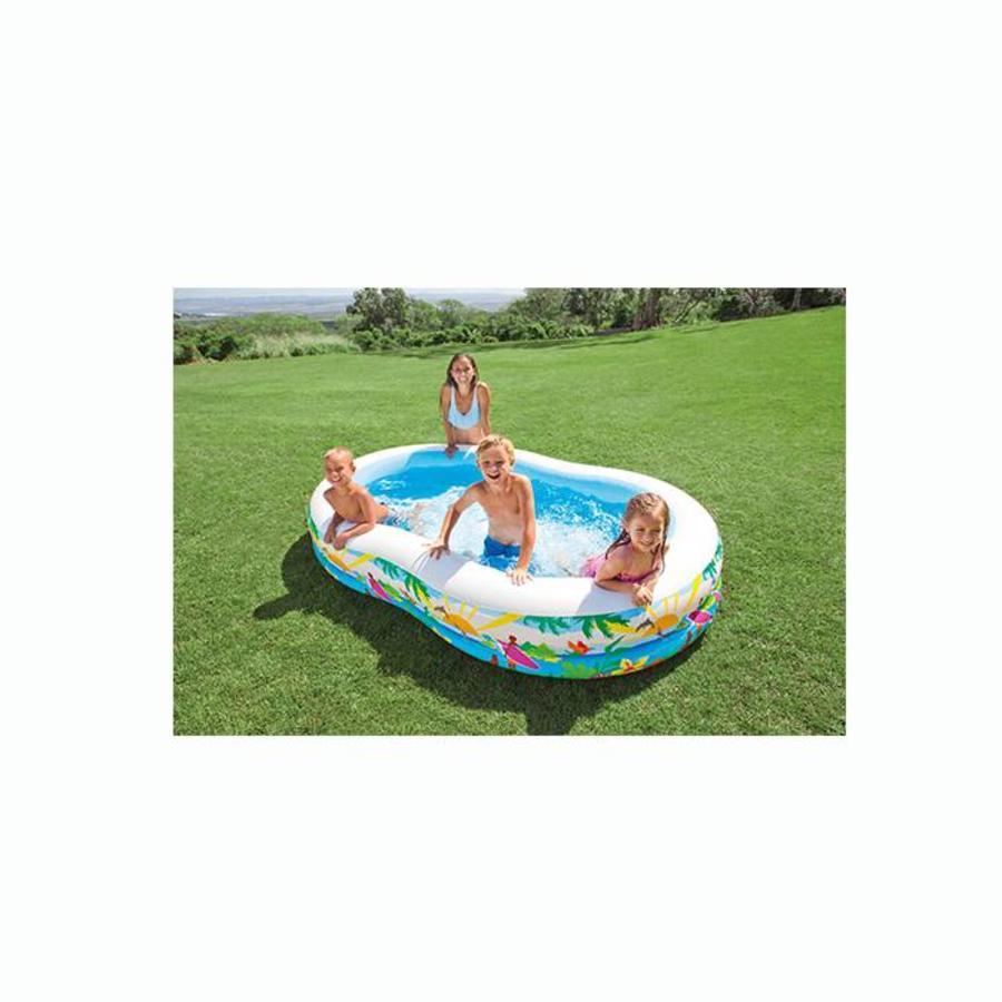 Intex paradijs zwembad (262cm x 160cm x 46cm)-2