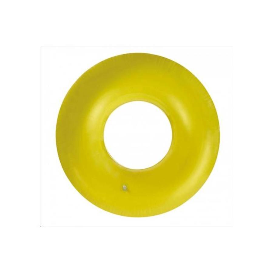 Intex neon opblaarbare zwemband geel, roze en oranje-3