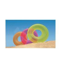 thumb-Intex neon opblaarbare zwemband geel, roze en oranje-2