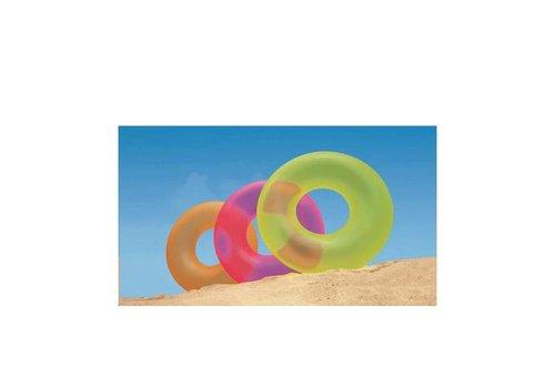 Intex neon opblaasbare zwemband
