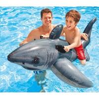 thumb-Intex white shark - opblaasbare haai-2