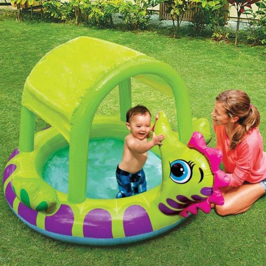Intex zeepaard kinderzwembad (188cm x 147cm x 104cm)-2