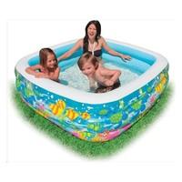 thumb-Intex swim center aquarium zwembad (159cm x 159cm x 50cm)-2